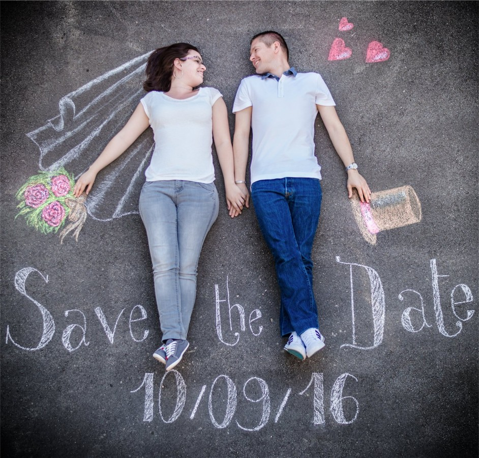 Save the date Photographe mariage grenoble Isere Marie-Cat