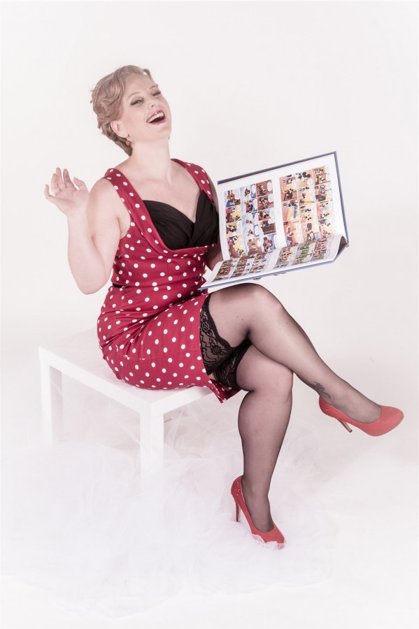 portrait pin up mode Photographe grenoble Isere Marie-Cat Photographies