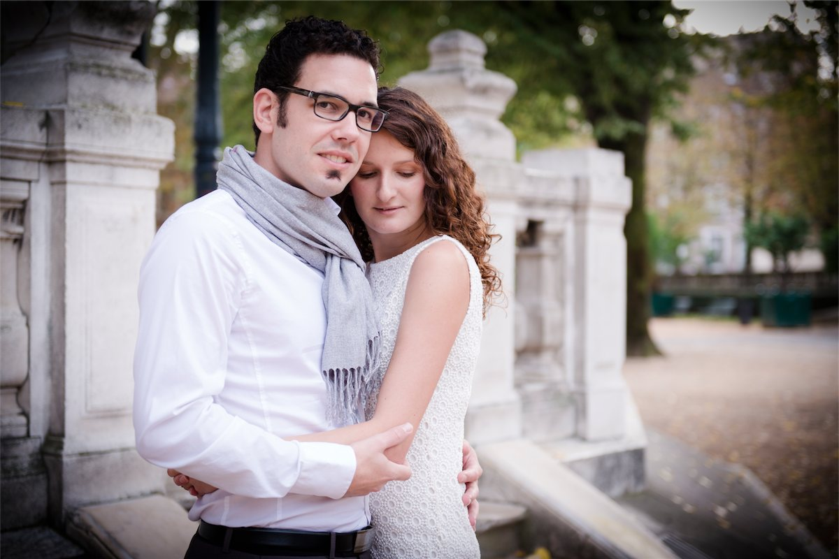 Photo de couple engagement Photographe grenoble Isere Marie-Cat Photographies