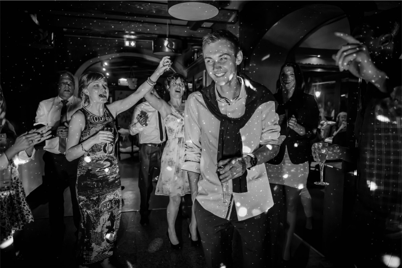 soirée dansante Photographe mariage grenoble Isere Marie-Cat