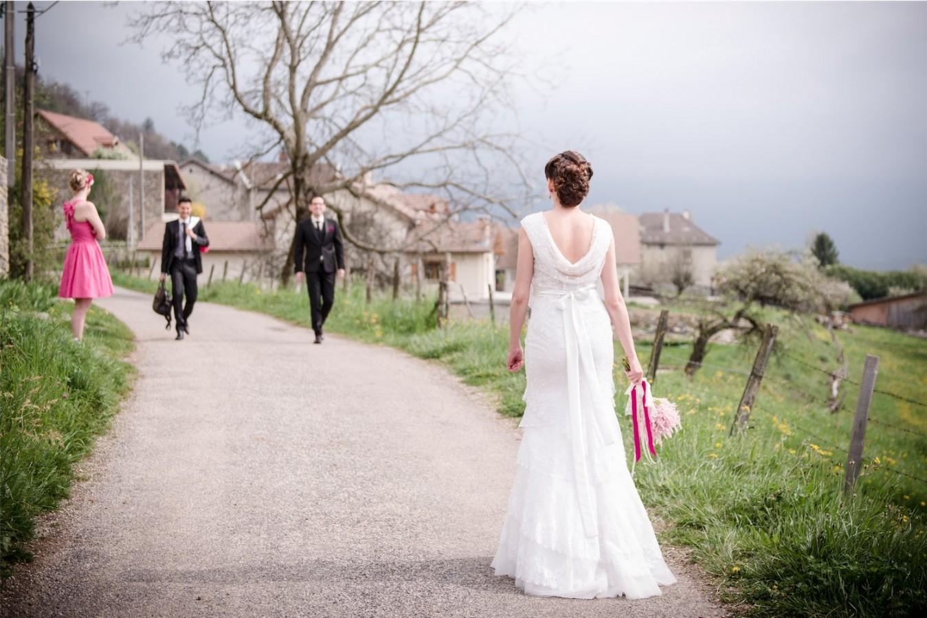 Rencontre des mariés Photographe mariage grenoble Isere Marie-Cat