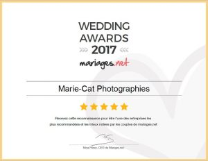Wedding awards 2017 mariage.net