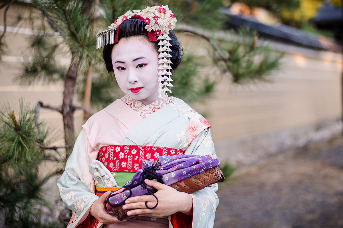 Geisha Koyoto Photographe grenoble Isere Marie-Cat Photographies