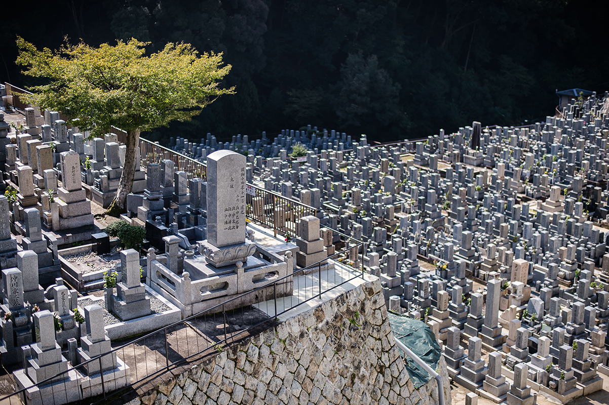 Cimetière Koyoto Photographe grenoble Isere Marie-Cat Photographies